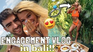 COME TO BALI WITH ME! I GOT ENGAGED!!