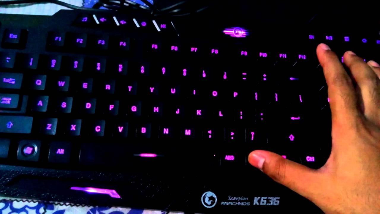 Игровая клавиатура MARVO