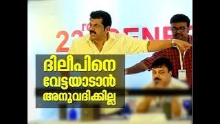 Actor Mukesh violent during AMMA press meet