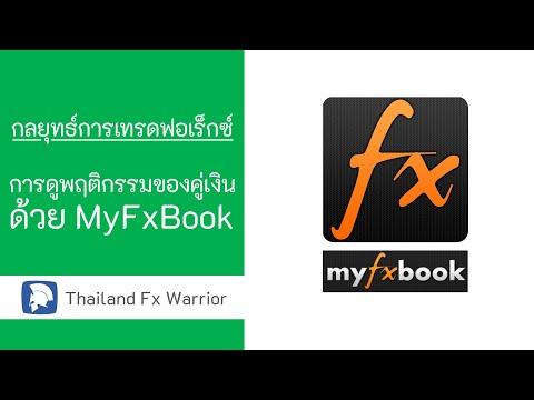 กลยุทธ์การเทรด Forex - การดูพฤติกรรมของคู่เงินด้วย Myfxbook - Thailand Fx Warrior