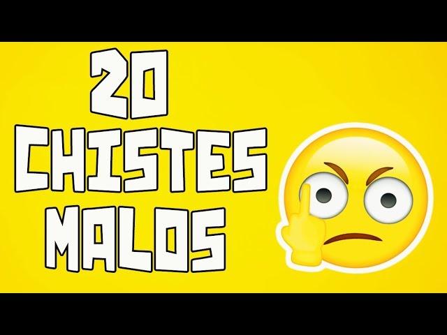 20 Chistes malos que te harán reír #18