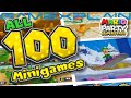 All 100 Minigames in Mario Party Superstars - Gameplay! (Japanese Website Compilation)