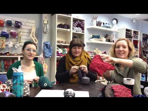 Wet Coast Wools Episode 15: A Wild Sylvia Appears!!