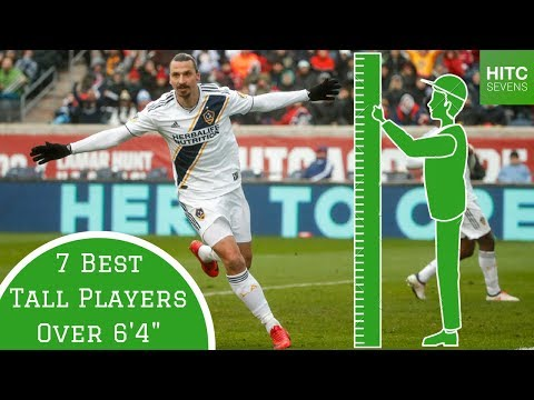 7 Best Tall Footballers Over 6'4""