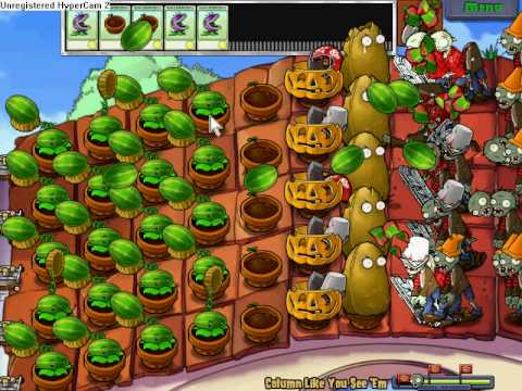 Plants Vs Zombies| Mini-Games| Column Like You See 'Em|