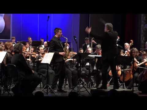 GORDAN TUDOR - ARP CONCERTO for saxophone and orchestra