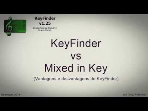 KeyFinder vs Mixed in Key por Diogo Fukumoto - Setembro 2014.