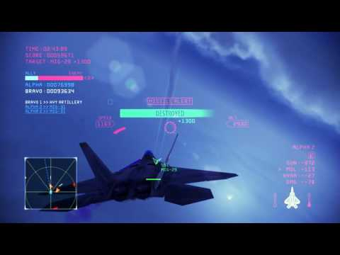 #93 Ace Combat Infinity   Coop   Moscow Hard