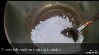 Cara membuat lem dari tepung tapioka(1)