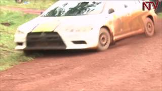 Ssebuguzi, Susan Muwonge ne Jas Mangat balwanira ngule mu mpaka z'emmotoka
