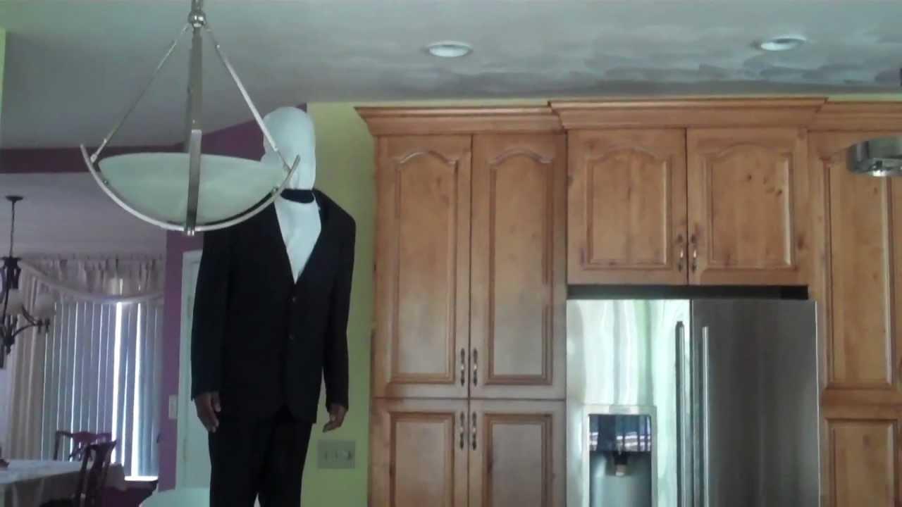 how to make a cheap slenderman halloween costume youtube - Halloween Costume Slender Man