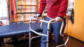 видео Ходунки для пожилых людей