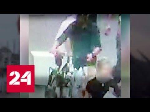 Устроивший взрыв в Лионе велосипедист попал на видео - Россия 24