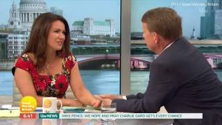 Susanna Reid and Bill Turnbull have a 'moment' as they are reunited