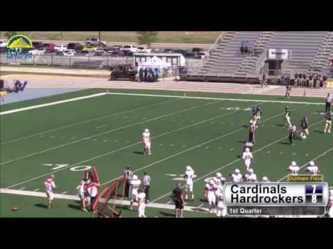 Hardrocker Football vs. William Jewell College Highlights