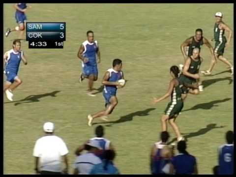 Pacific Games 2007 Touch Rugby ( Bronze, Silver and Gold) Mix