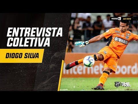 COLETIVA Diogo Silva  07082019  Vozão TV