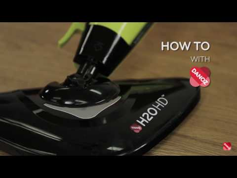 How To - Attach Your H20 HD Steam Mop Head