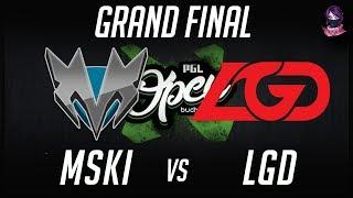 Скачать Mineski Vs LGD Grand Final PGL Open Bucharest Minor Highlights Dota 2 By Time 2 Dota Dota2