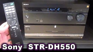 Sony STR-DH550 5.2 Stereo Receiver UNBOXING & Review 7.2 AVR STR-DN860 850 750 5.1