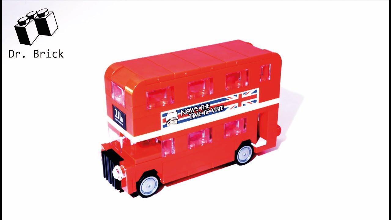 lego creator 40220 london bus stop motion speed build. Black Bedroom Furniture Sets. Home Design Ideas