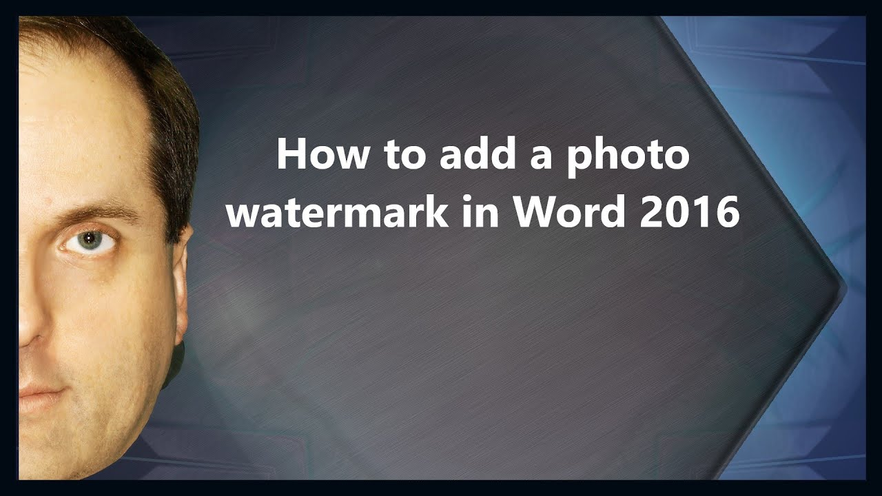 Free Watermark. Add Custom Watermark