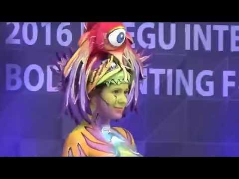 2016 DAEGU INTERNATIONAL BODY PAINTING FESTIVAL
