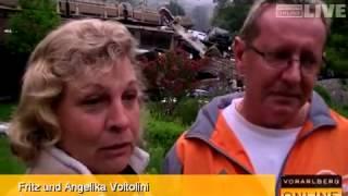 """Zugsunglück in Ausserbraz: """"Plötzlich flog ein Auto am Fenster vorbei"""