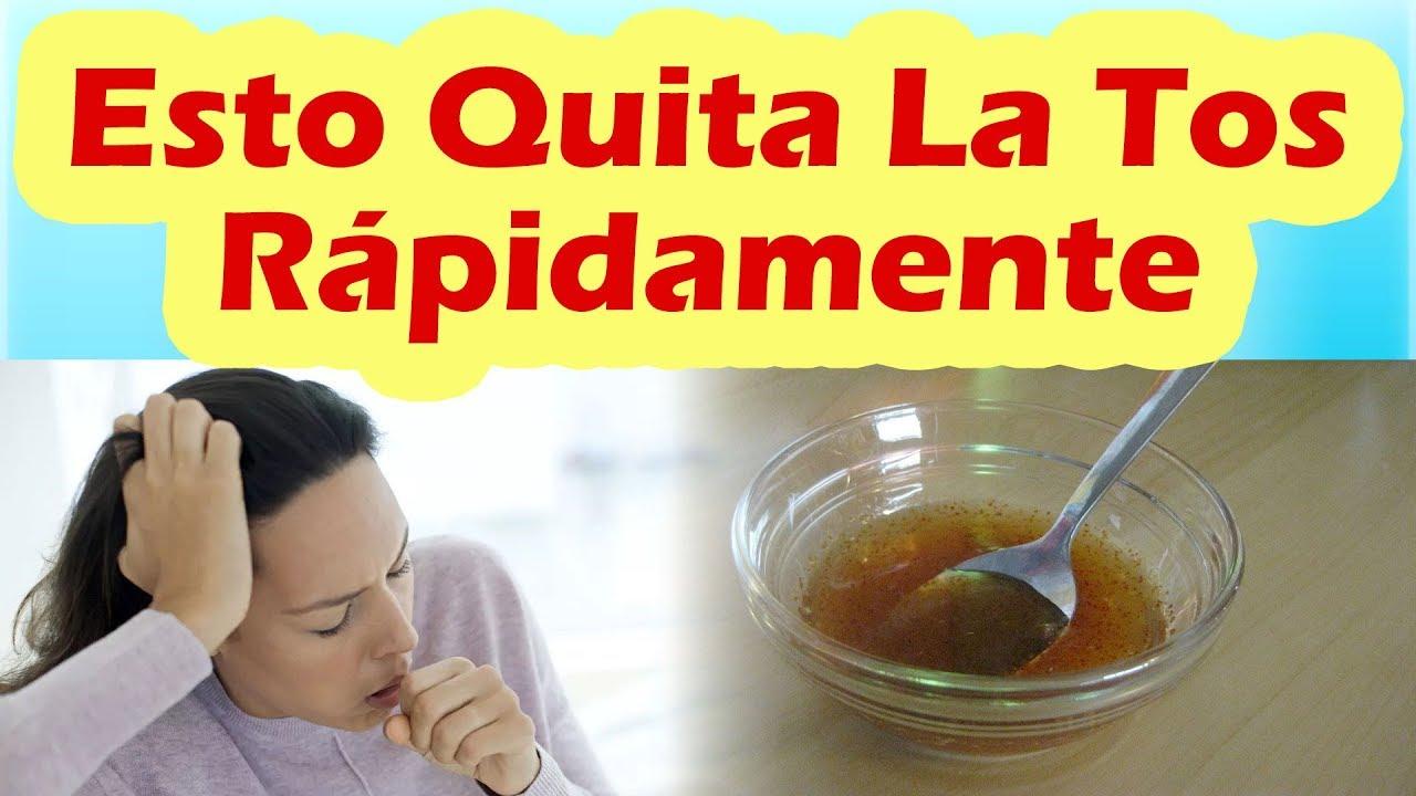 Como hacer para quitar la tos rapido