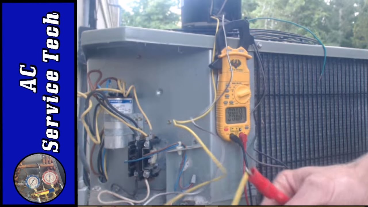 How To Wire Rescue Condenser Fan Motor Phase Wiring Diagrams Besides Reversible Ac 4 And 3 Eliminate 2 Run