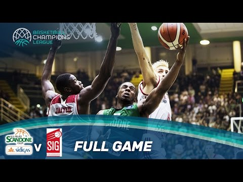 Sidigas Avellino v SIG Strasbourg - Full Game - Basketball Champions League