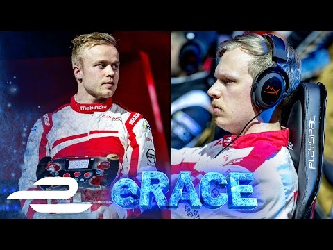 Mahindra Challenge Olli Pahkala v Felix Rosenqvist: Sim Racer Takes On Pro Racing Driver