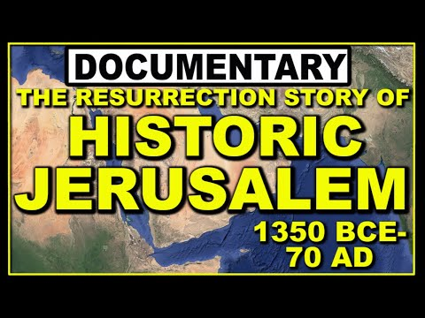 Palestine : History Map Of Israel \u0026 Jesus In True Jerusalem