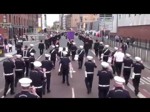 Sons of Ulster Old Boys @ 36TH Ulster Division Review Centenary Parade 2015