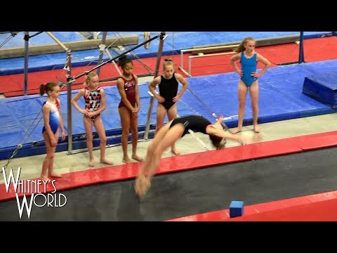 Double Full   Gymnastics Without Arms   Whitney Bjerken