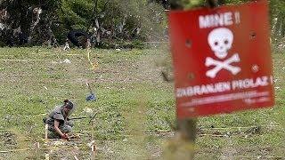 Minas: O perigo invisível depois das cheias na Bósnia