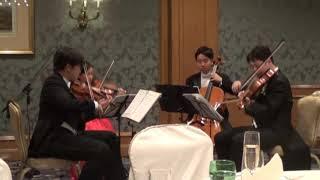 結婚式の迎賓から送賓までの全曲を演奏 ~『アイネ・クライネ・ナハトム...