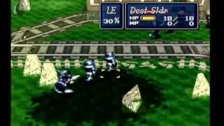 Lets Play Shining Force 3 - Battle 8