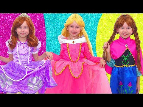 Alice Smile together with Princesses going to a birthday