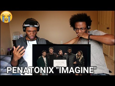 Imagine - Pentatonix  [OFFICIAL VIDEO] (REACTION)