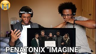 Imagine - Pentatonix  [OFFICIAL VIDEO] (REACTION)