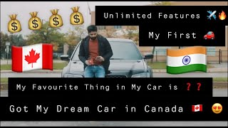 International Student Bought Car in Canada || My First Car || Chrysler 300s Dream Car || Kanda Vlogs