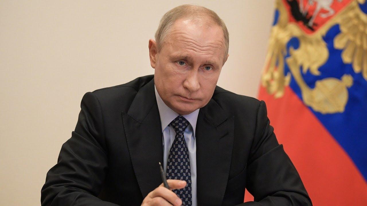 Обращение Владимира Путина к россиянам и совещание по ситуации с коронавирусом, 11.05.20