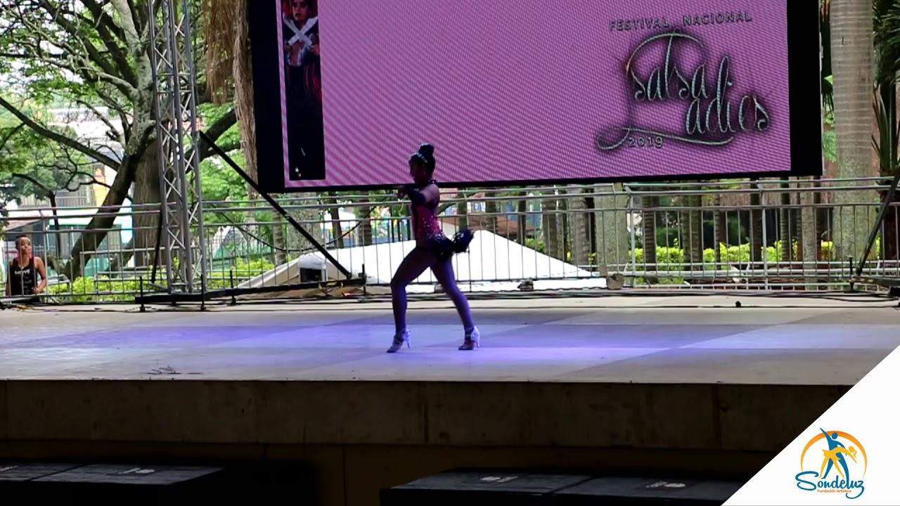 Paula Serna Primer Puesto Solista Amateur - Salsa Ladies 2019
