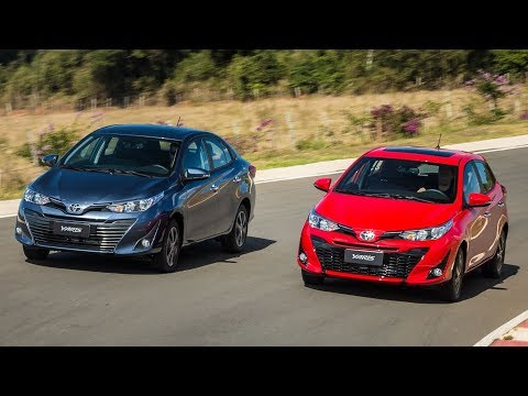 Toyota Yaris Sedan vs Yaris Hatchback