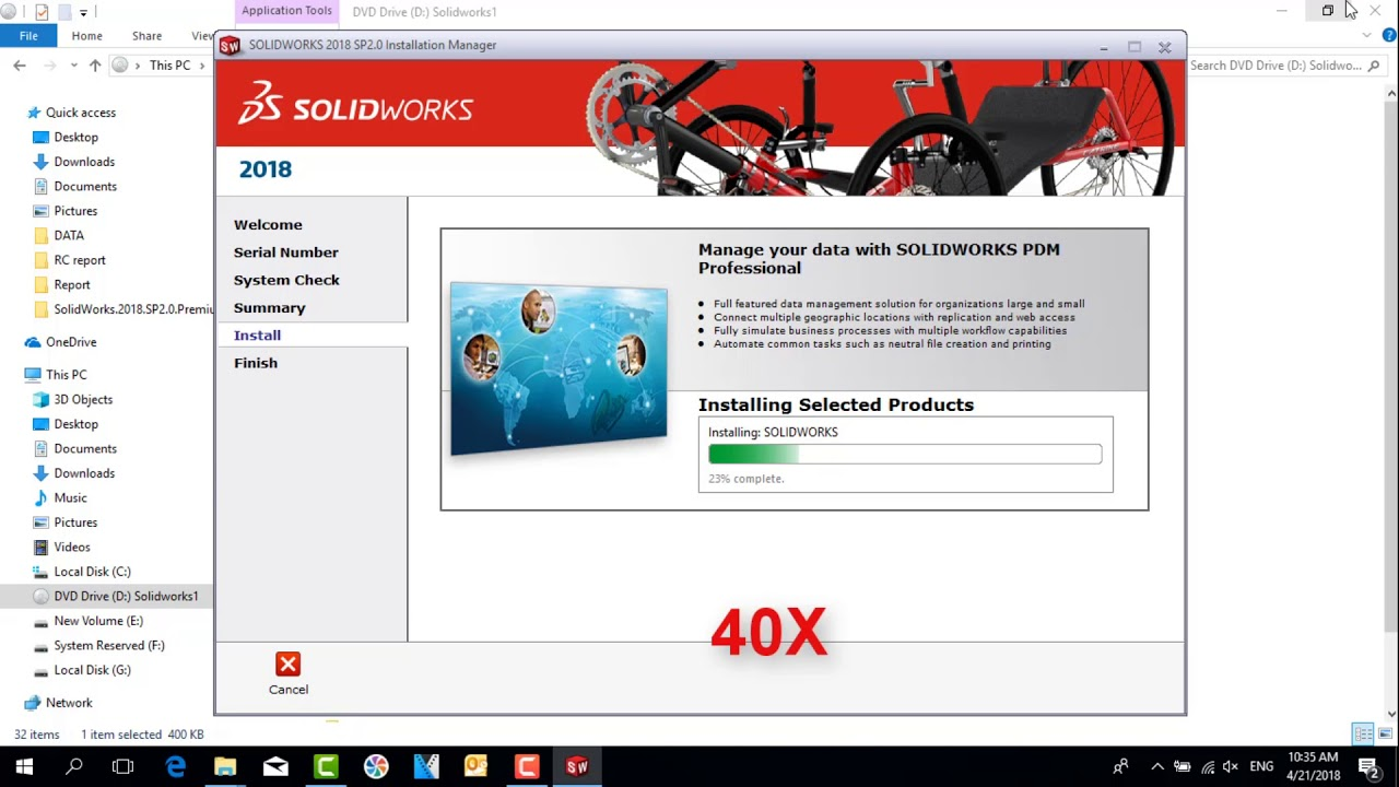 TUTORIAL SOLIDWORKS | How to install solidworks 2018