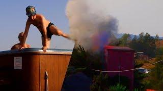 Incendio Mientras En El Jacuzzi (vlog 58)