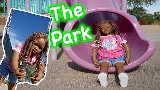 Silicone Baby Big Sister Baby Doll Slide Play Park + Reborn Kid Malia! malia. 検索動画 16