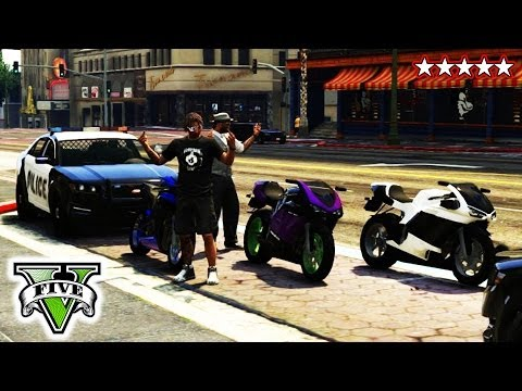 GTA 5 Online COPS & ROBBERS Massacre | GTA V Custom Game Mode