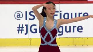 Tsin Nam Nicole CHAN HKG-Ladies Short Program   ZAGREB 2017